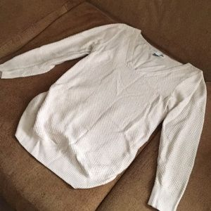 Off white maternity sweater